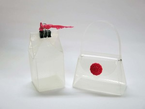Milk Carton and Purse