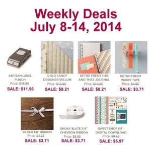Weekly Deal 7-8