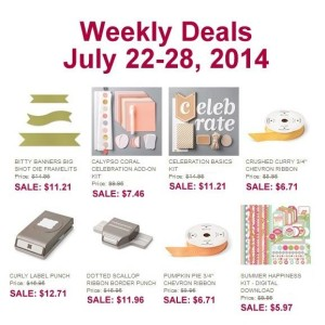 Weekly Deal July 22-29