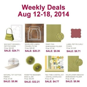 Weekly Deal - Aug 12-18