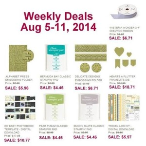 Weekly Deal - Aug 5-11