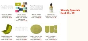 Weekly Deals - Sept 23-30