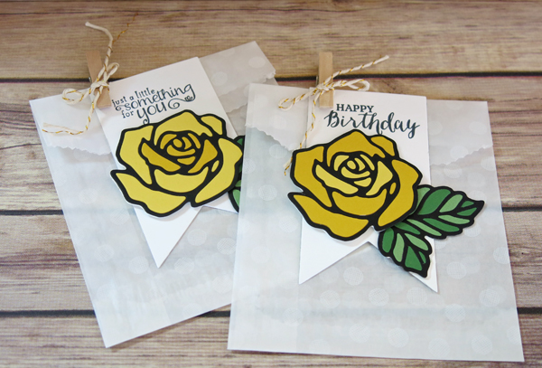 Rose Wonder Treat Bags