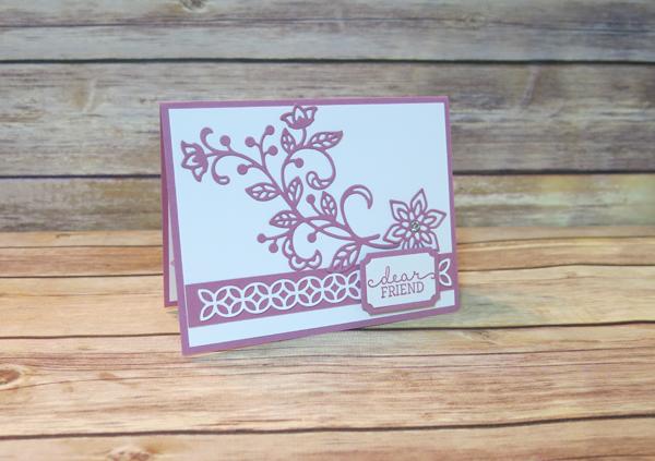 Flourishing Phrases Card front