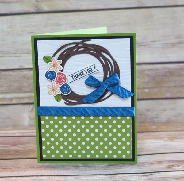 Swirly Bird Wreath