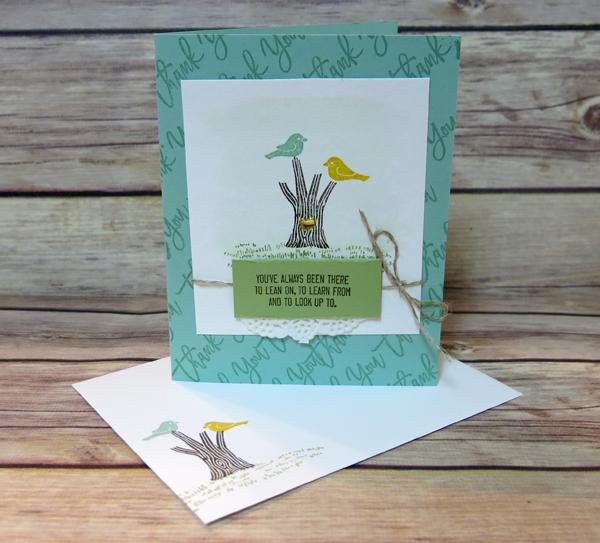 Bird on a Branch Card